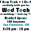 6.18: SF New Tech + I Do PR Present: Wed Tech!