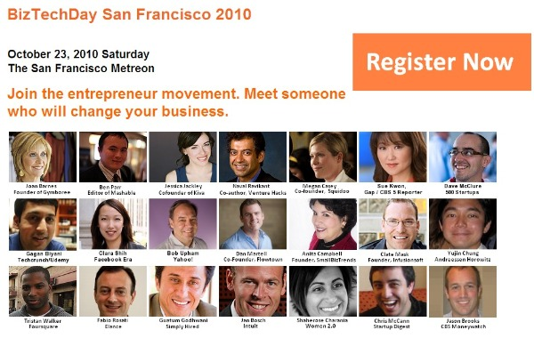 biztechday 2010 sf speakers list register now tickets