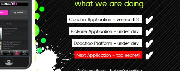 what is doochoo  next top secret app pic